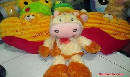 Boneka Sapi Krem
