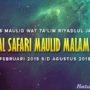 Jadwal Safari Maulid Riyadlul Jannah