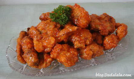 Resep Ayam Pedas Manis