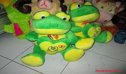Boneka Kodok Ijo
